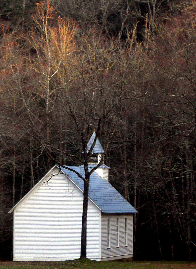 Tennessee Photograph - Tennessee Mountain Church by Skip Willits