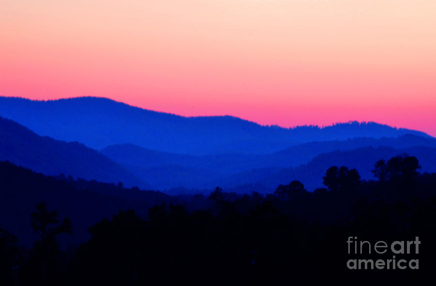 Great Photograph - Tennessee Sunset by EGiclee Digital Prints