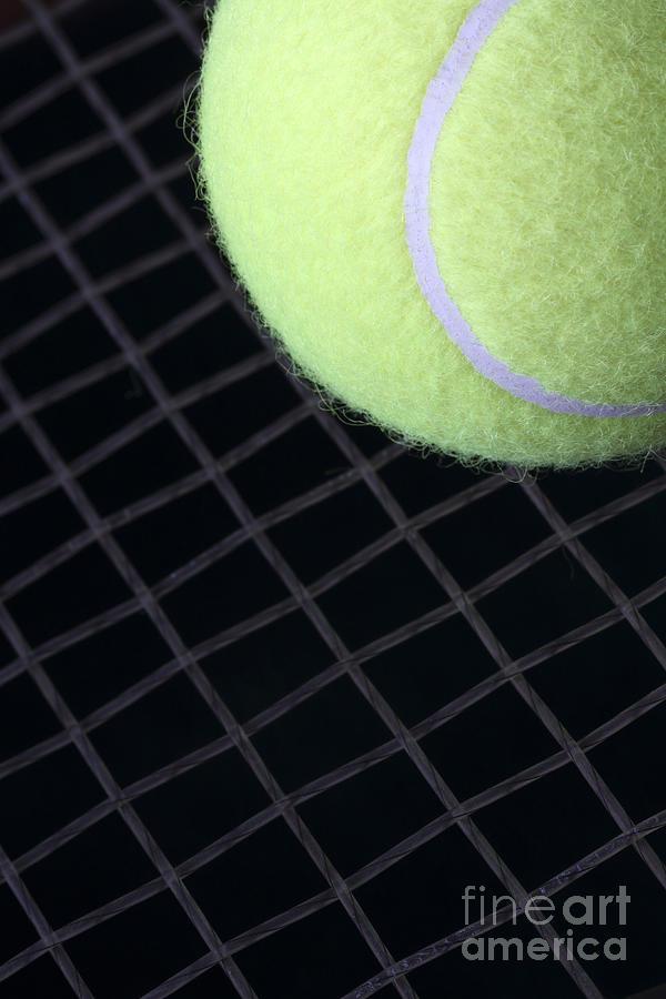Tennis Photograph - Tennis Anyone by John Van Decker