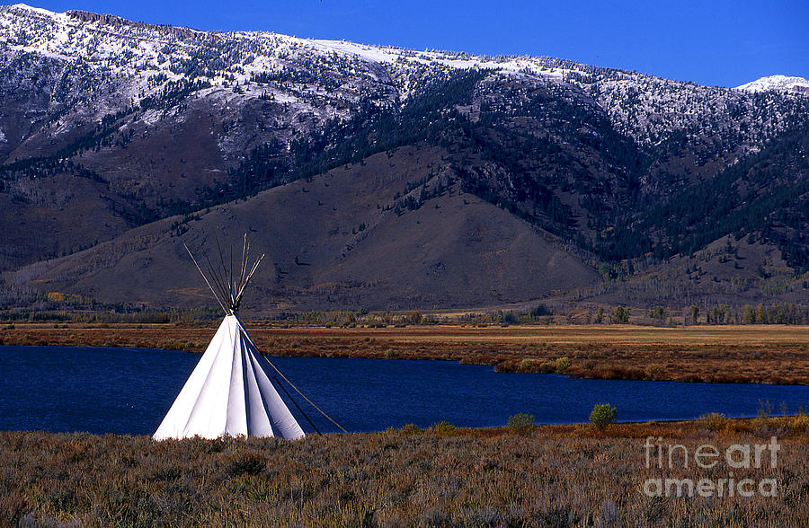 Tepee Photograph - Tepee by Barry Shaffer
