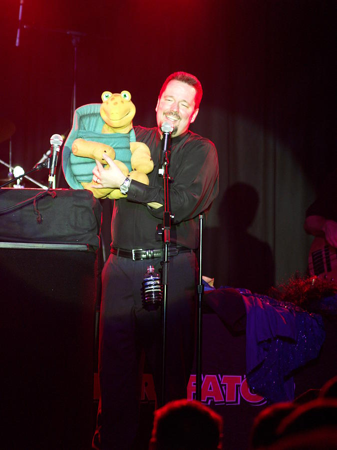 Terry Fator Photograph by Kenneth Dow