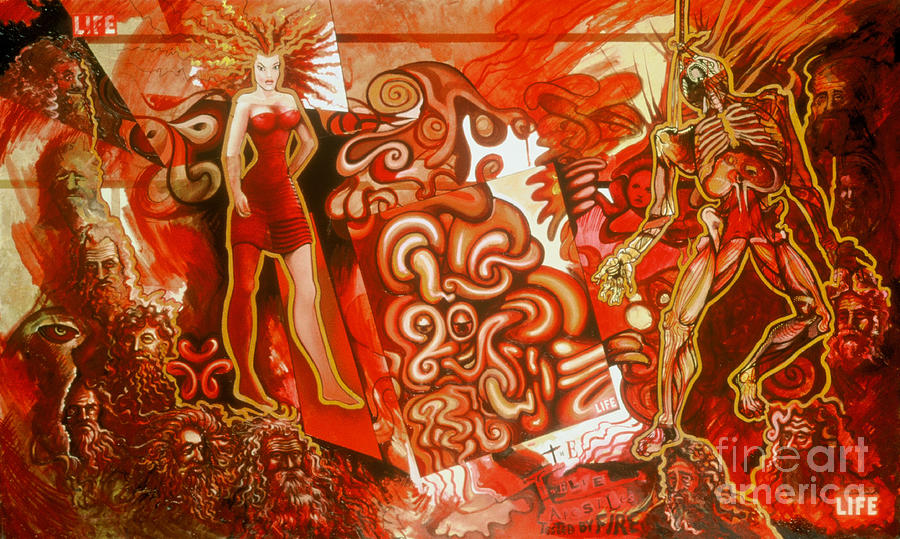Revelation Painting - Tested By Fire by Peter Olsen