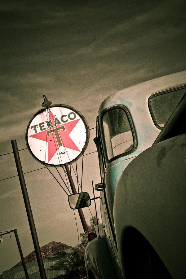 Chevrolet Photograph - Texaco by Merrick Imagery
