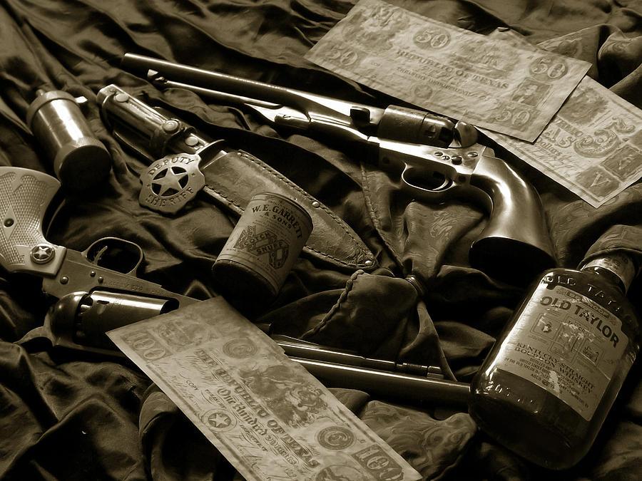 Guns Photograph - Texas Lawman by Bill Holton