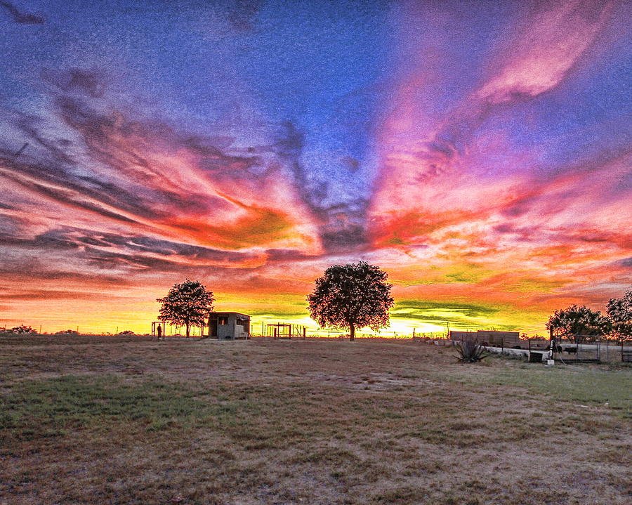 Texas Sunset Photograph By Elizabeth Q Garcia