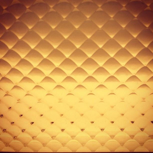 Shadows Photograph - #texture #grid #gold #yellow #shadows by Aubrey Erickson
