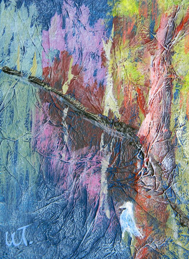Cypress Painting - Texture Of Nature 1 by Warren Thompson