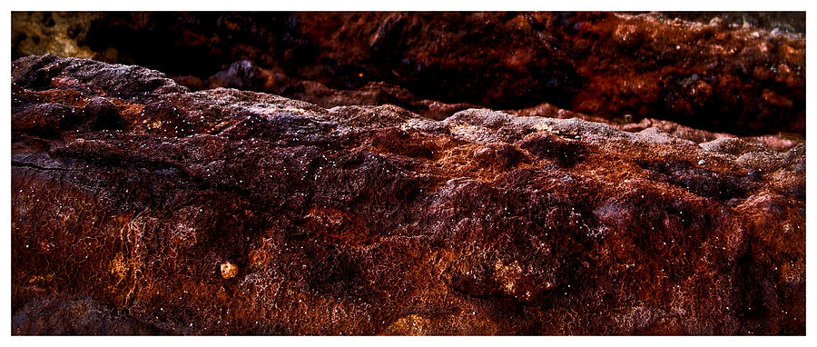 Ocean Photograph - Texture Of The Sea by Ronald Talley