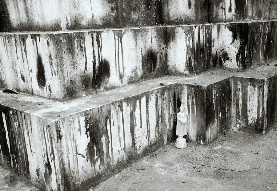 Wat Photograph - Texture by Shaun Higson