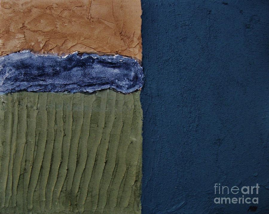 Abstract Digital Art - Textures Four Ll by Marsha Heiken