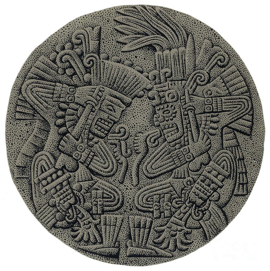 History Photograph - Tezcatlipoca And Huitzilopochtli by Photo Researchers