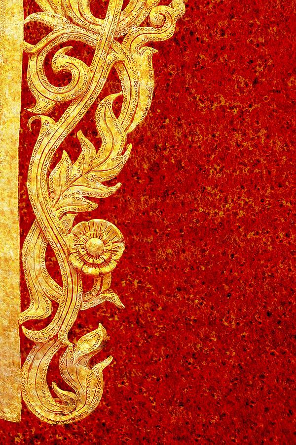 Thai Art Pattern Photograph By Bou Lemon