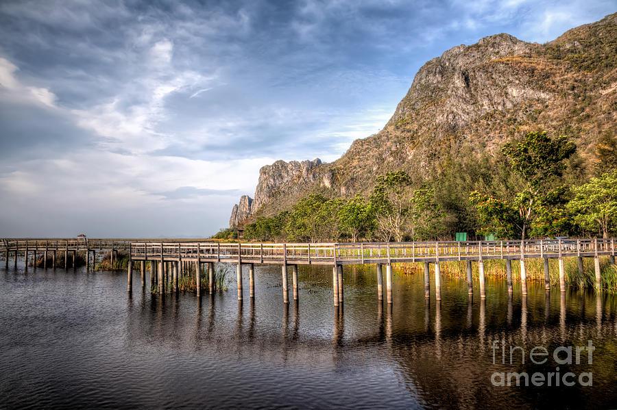 Asia Photograph - Thai Park by Adrian Evans