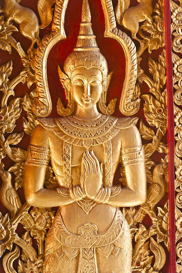 Thai Style Door Photograph