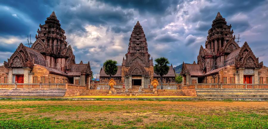 Architecture Photograph - Thai Temple by Adrian Evans