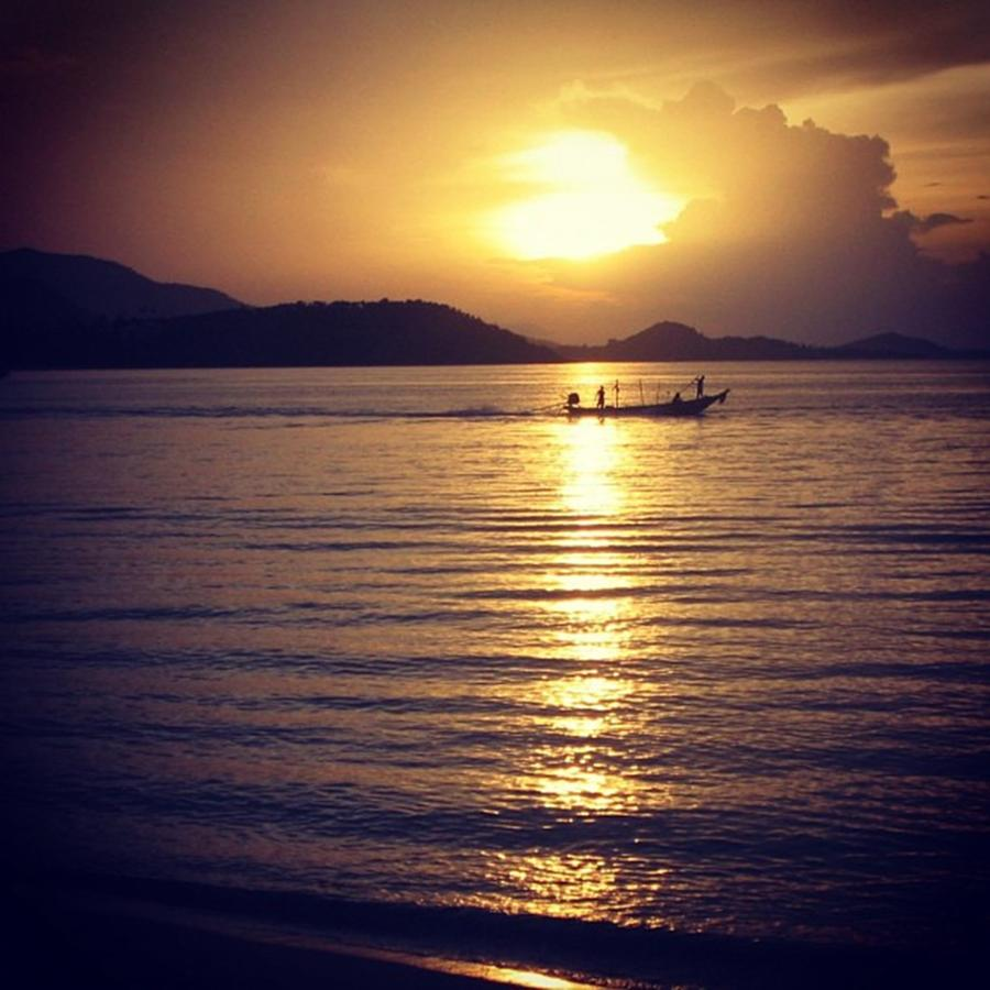 Sunset Photograph - Thailand by Luisa Azzolini