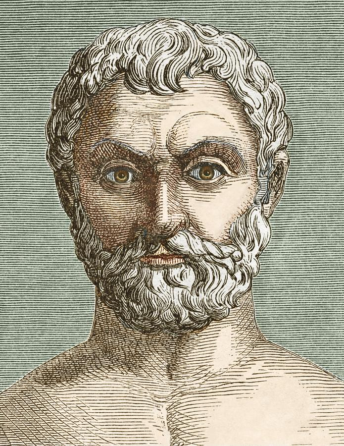 Thales Of Miletus Photograph - Thales, Ancient Greek Philosopher by Sheila Terry