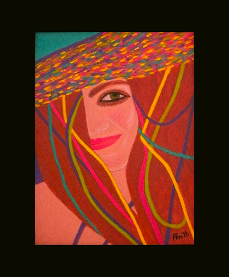 Acrylic Painting - That Smile by Anneliese Fritts
