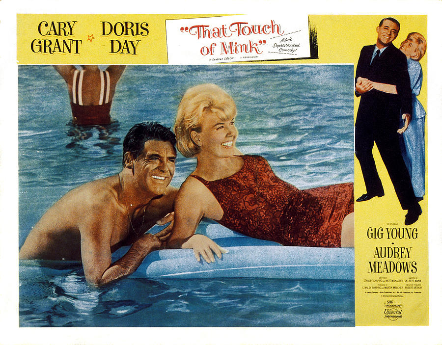 1962 Movies Photograph - That Touch Of Mink, Cary Grant, Doris by Everett