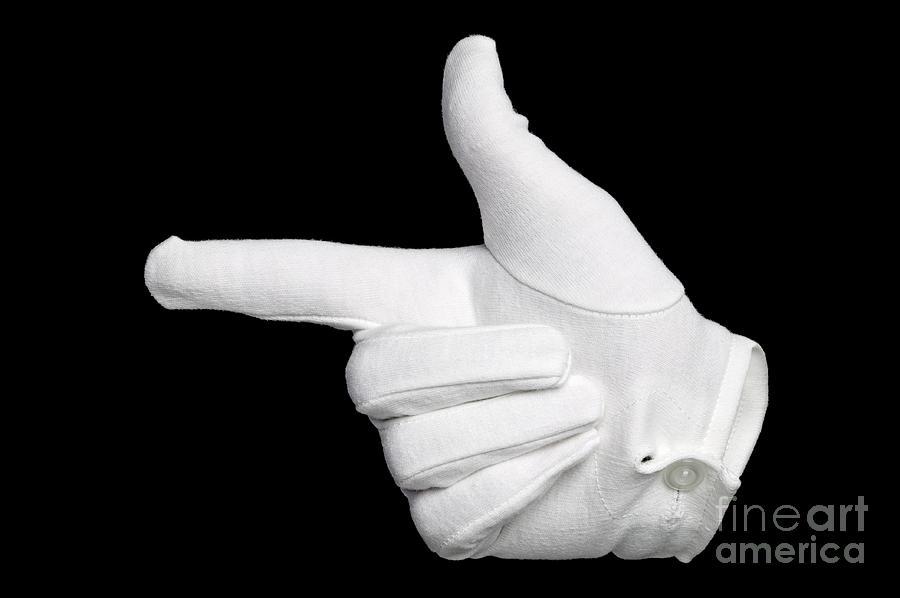 Finger Photograph - That Way This Way by Richard Thomas