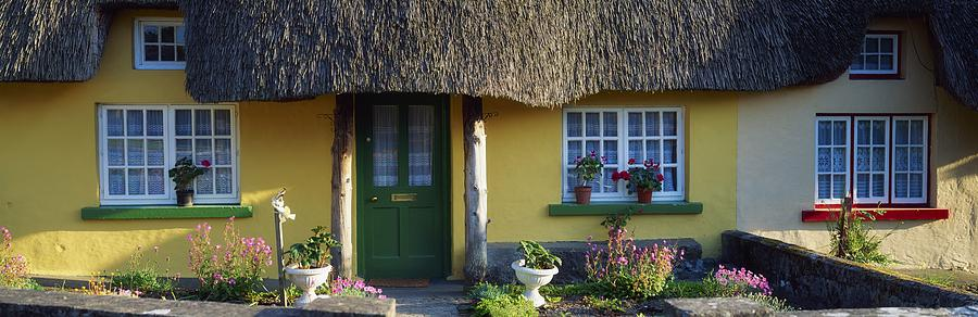Architecture Photograph - Thatched Cottage, Adare, Co Limerick by The Irish Image Collection