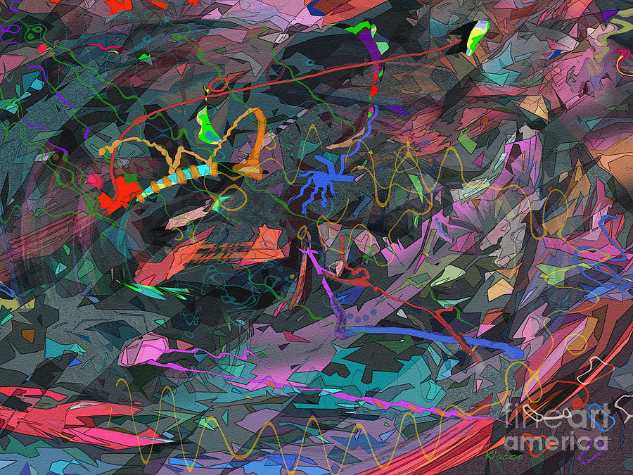 Abstract Digital Art - Thats Good Coffee by David Klaboe