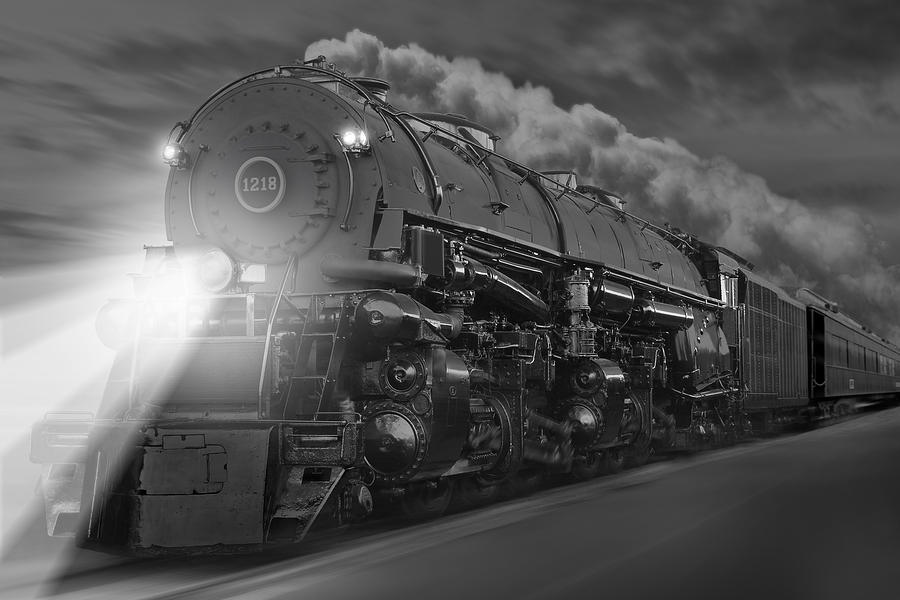 Transportation Photograph - The 1218 On The Move by Mike McGlothlen