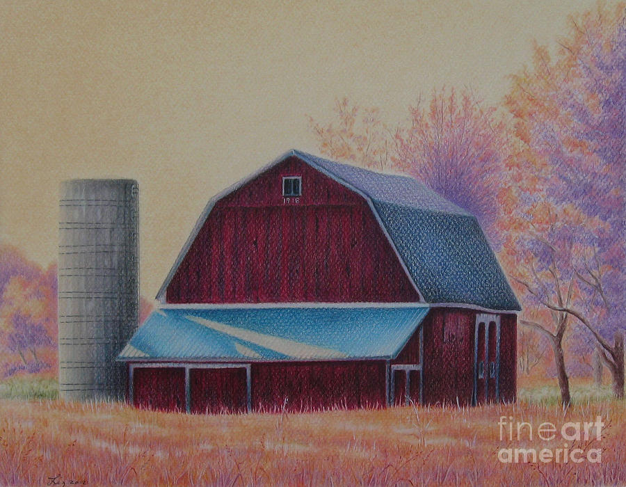 The 1918 Barn by Elizabeth Dobbs