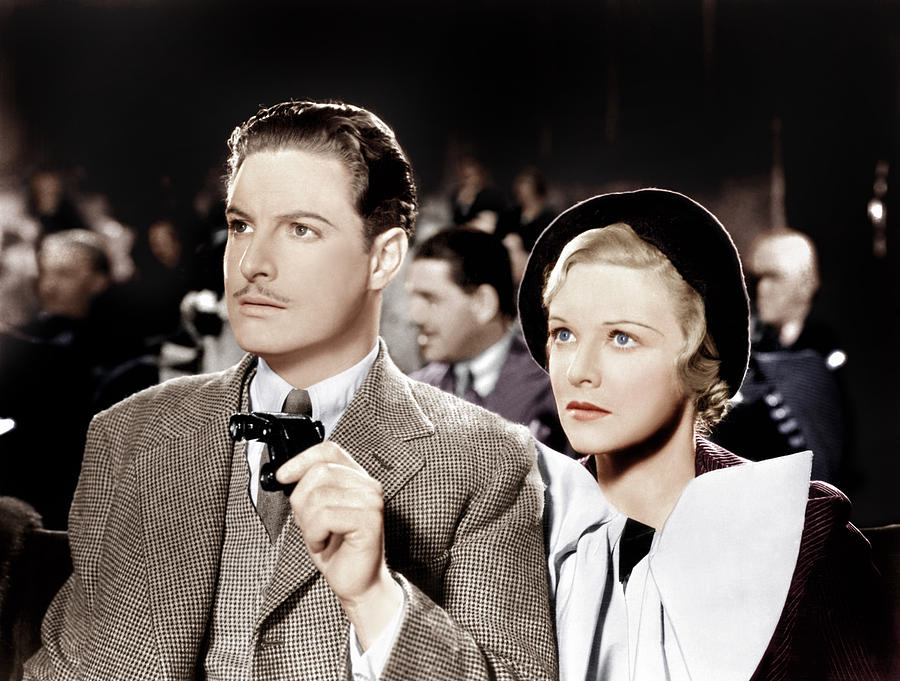 1930s Movies Photograph - The 39 Steps, From Left Robert Donat by Everett