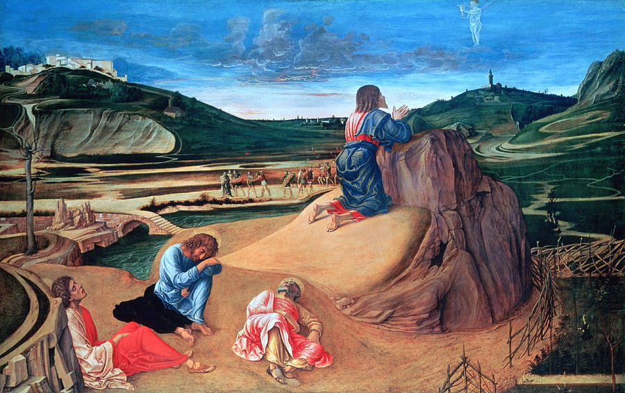 Horizontal Photograph - the Agony In The Garden Painting by Photos.com