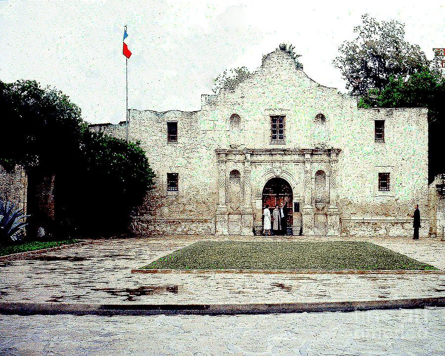 The Alamo San Antonio Texas Photograph By Merton Allen