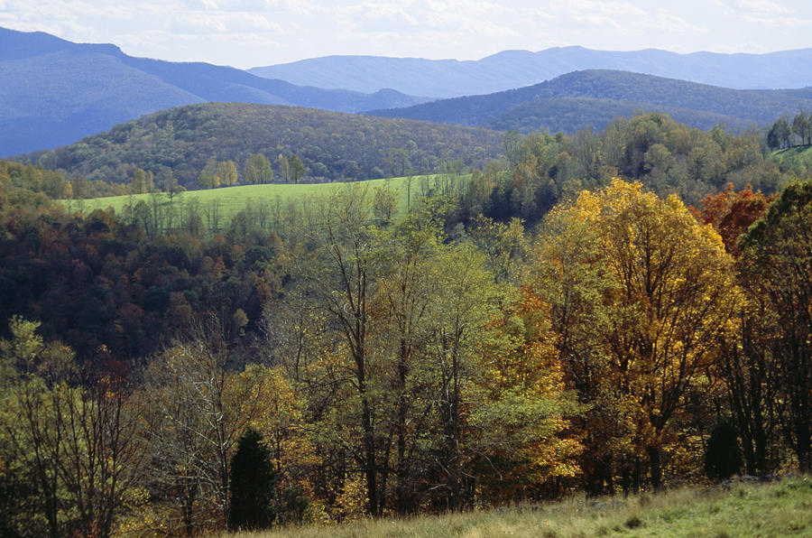 North America Photograph - The Allegheny Front, North Fork by Raymond Gehman