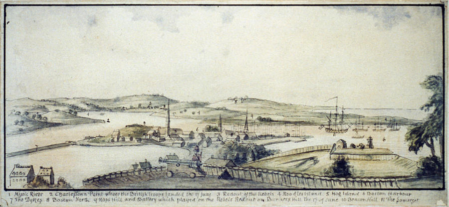 1770s Photograph - The American Revolution, View by Everett