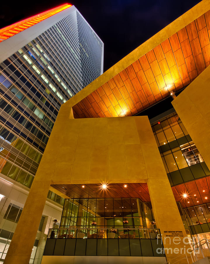 Architecture Photograph - The Art Of Business by Brian Tye