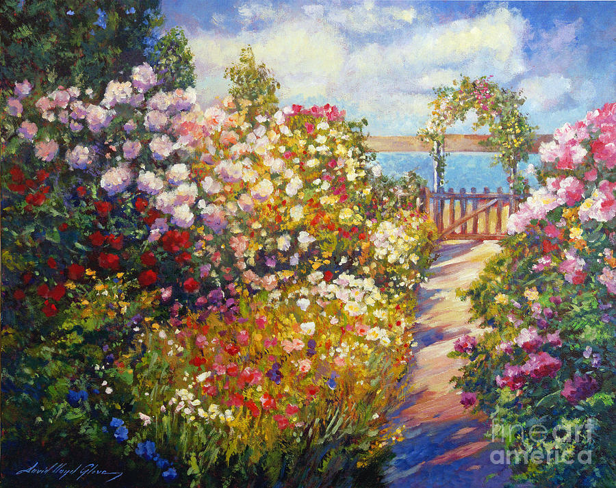 Landscape Painting - The Artists Dream Fantasy by David Lloyd Glover