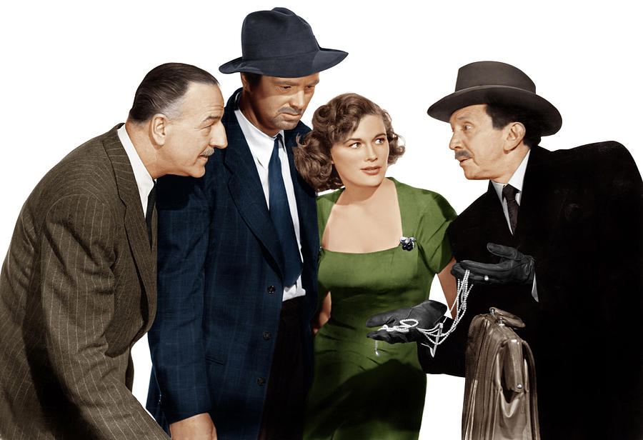 1950 Movies Photograph - The Asphalt Jungle, From Left Louis by Everett