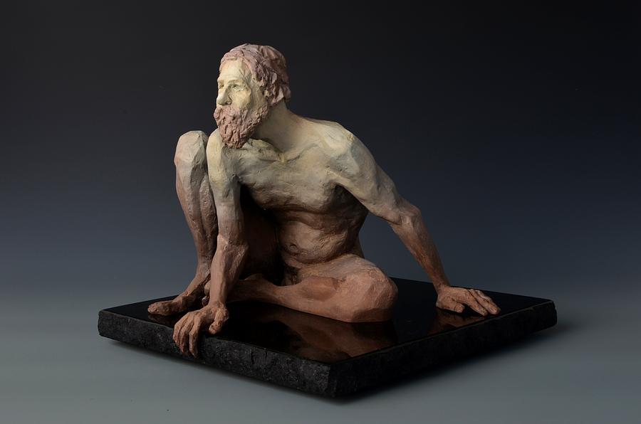 Male Sculpture - The Awakening by David Varnau