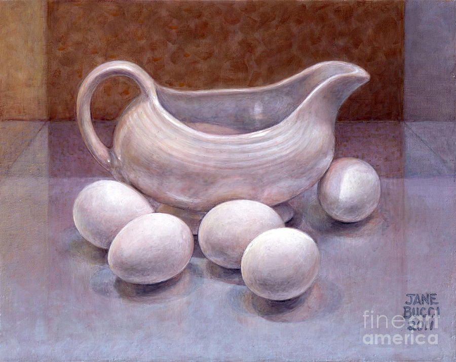 Still Life Painting - The Babysitter by Jane Bucci