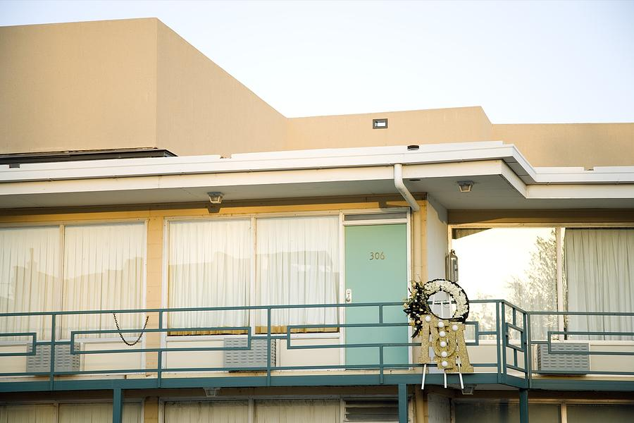 History Photograph - The Balcony Of The Lorraine Motel Where by Everett