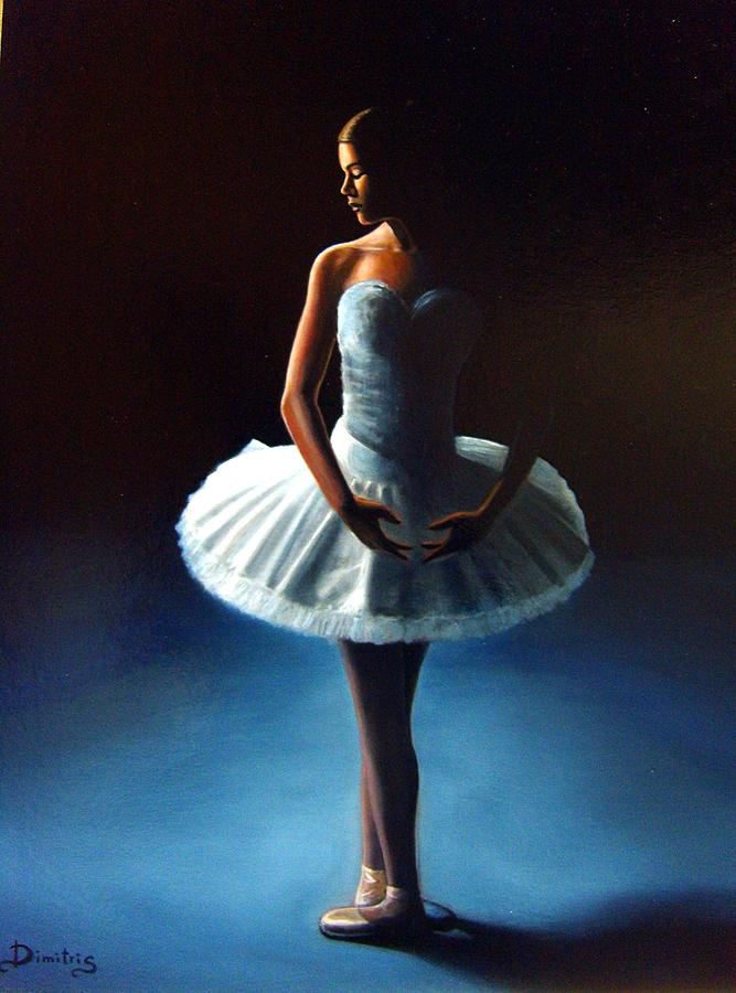 Dancer Painting - The Ballet Dancer 2 by Dimitris Papadakis