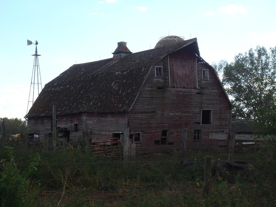 Barn Photograph - The Barn IIi by Bonfire Photography