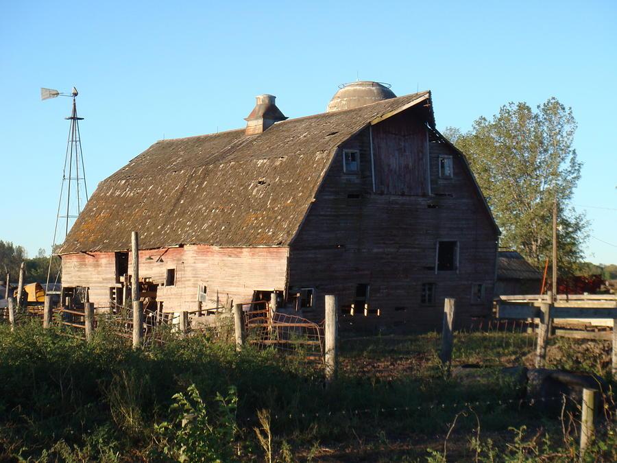 Barn Photograph - The Barn Iv by Bonfire Photography