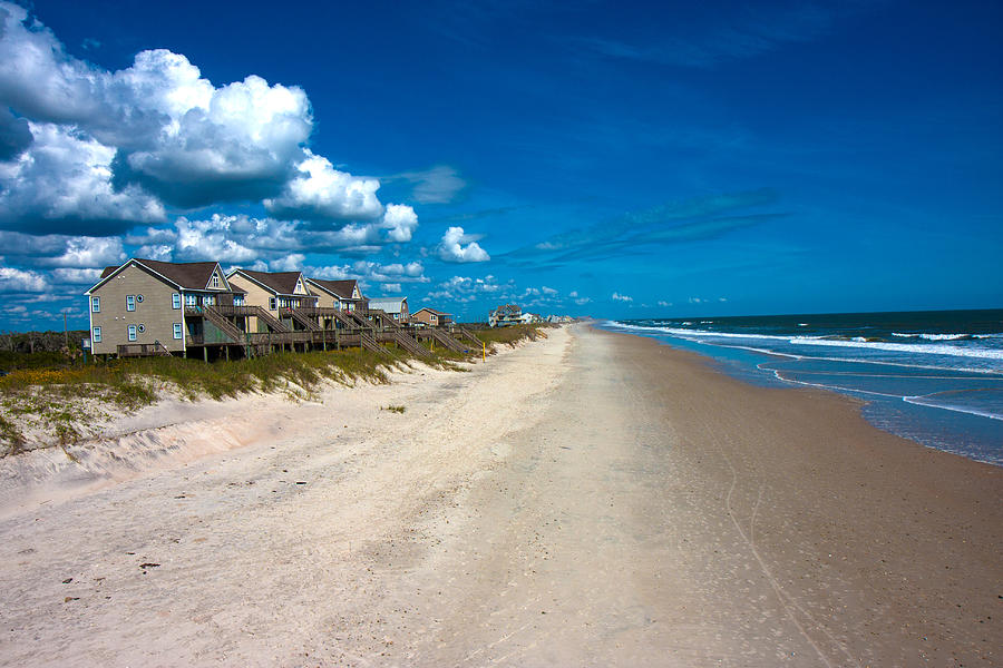 Topsail Photograph - The Beach Is Yours by Betsy Knapp