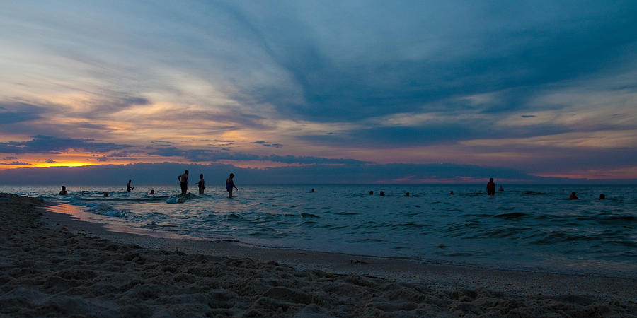 Tim Nichols Photograph - The Beach by Tim Nichols
