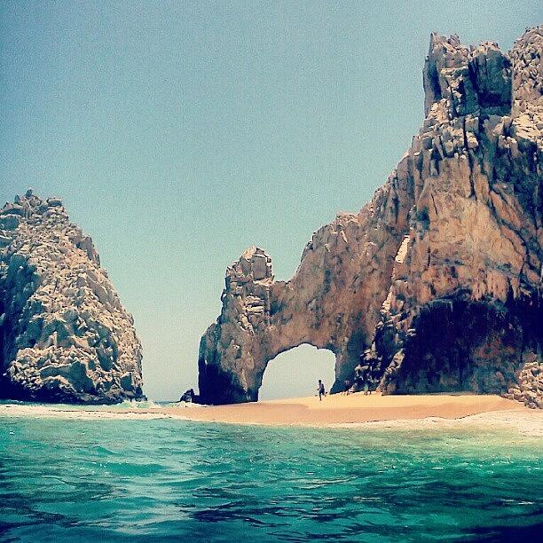 Summer Photograph - The Beautiful Arches In Cabo San Lucas by Amanda Schoonover