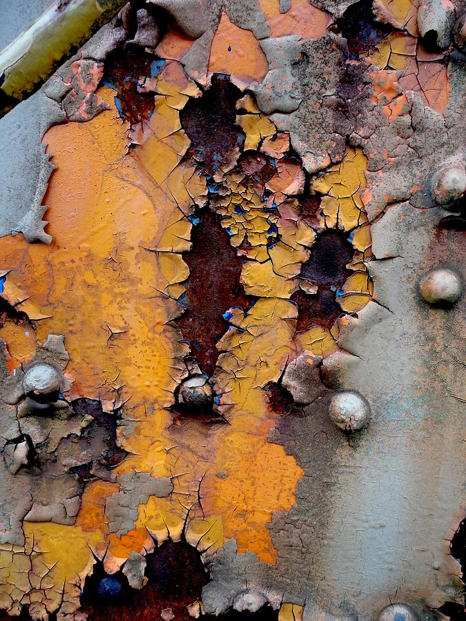 Rust Photograph - The Beauty Of Aging by The Art With A Heart By Charlotte Phillips