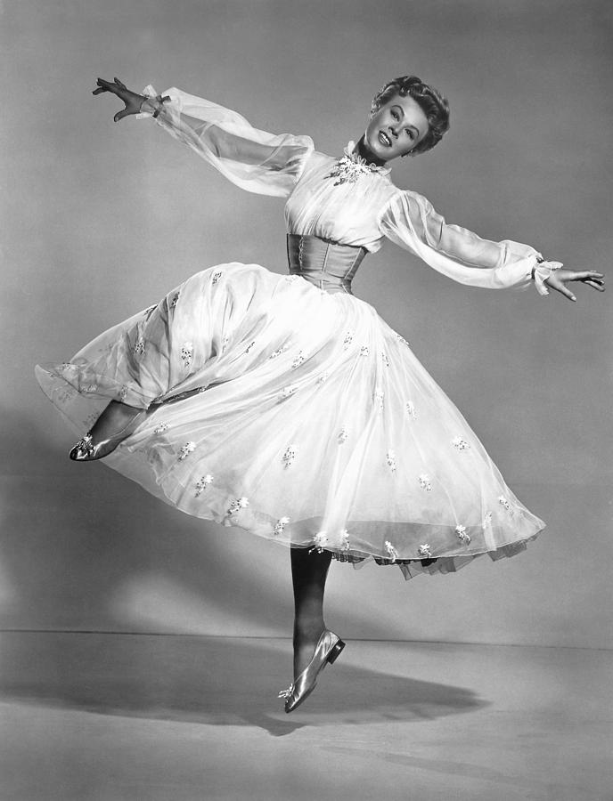 1950s Portraits Photograph - The Belle Of New York, Vera-ellen, 1952 by Everett