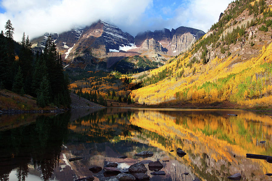 Autumn Colors Photograph Photograph - The Bells Are Ringlng by Jim Garrison