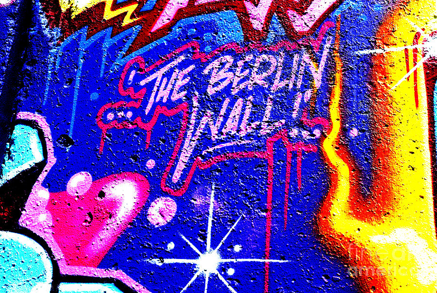 Berlin Photograph - The Berlin Wall 3 by Mark Azavedo