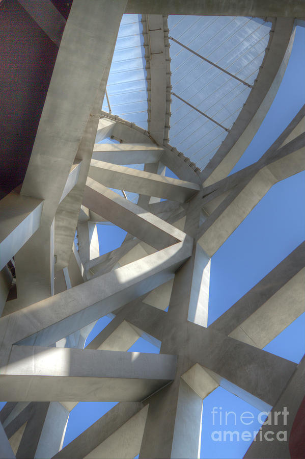 Architecture Photograph - The Birds Nest  by Andreas Jancso